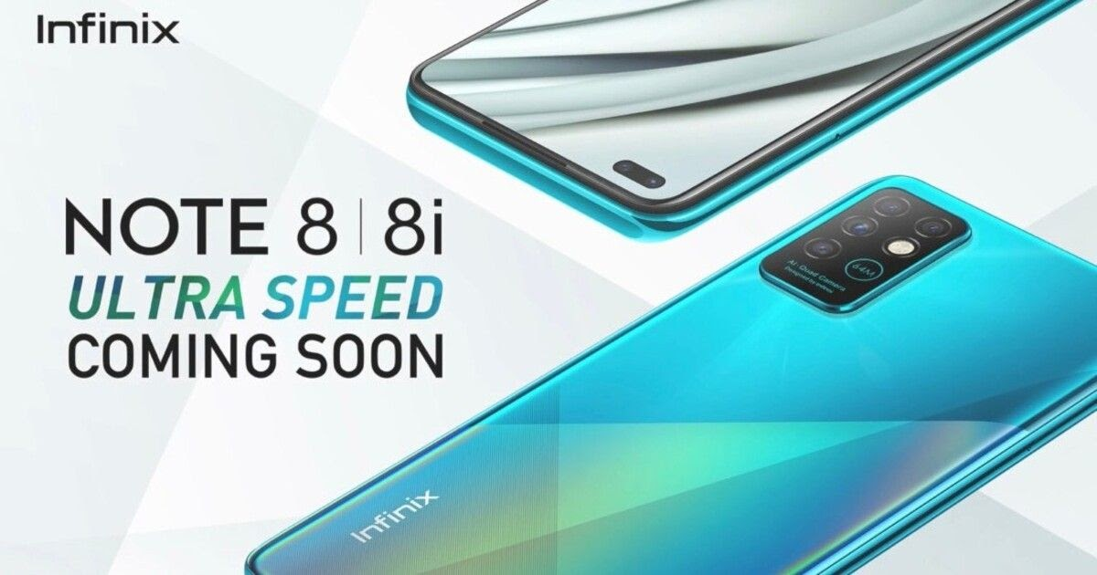 Launch with Infinix Note 8 and Note 8i quad rear camera setup, know all specifications - Gadgets Detected - Latest Tech News