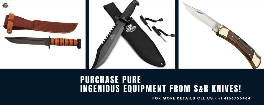 Purchase Pure Ingenious Equipment From S&R knives! - S&R Knives Inc
