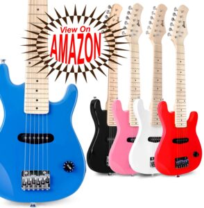 Best Electric Guitar for Beginners kids to play and learn music with this way