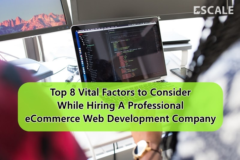 Top 8 Vital Factors to Consider While Hiring A Professional eCommerce Web Development Company