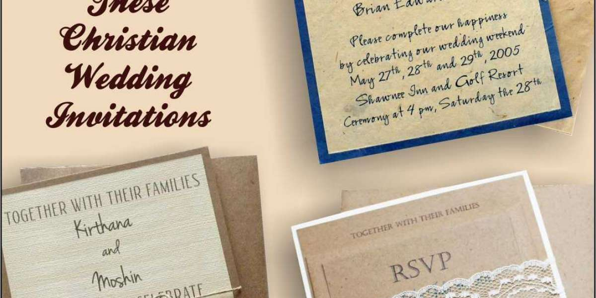 Celebrate a Lifetime of Love With These Christian Wedding Invitations