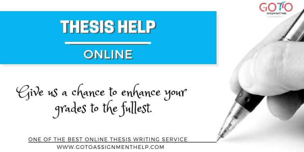 Get Thesis on time at Gotoassignmenthelp by our Faculty