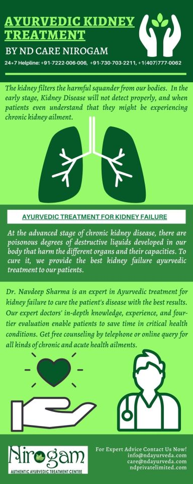 ND Care Nirogam Pvt. Ltd. — Ayurvedic Kidney Treatment and Medicines At ND...