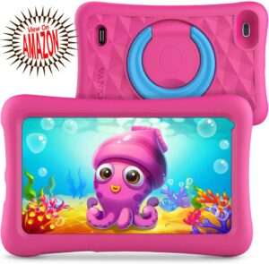 Best Kids Tablet toy for little kids both boys and girls to give them a fun way