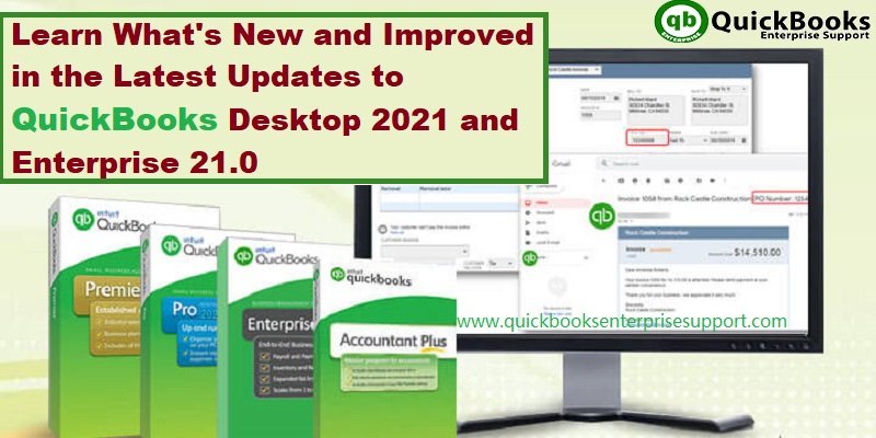 Release Notes for QuickBooks Desktop 2021 (New and Improved)