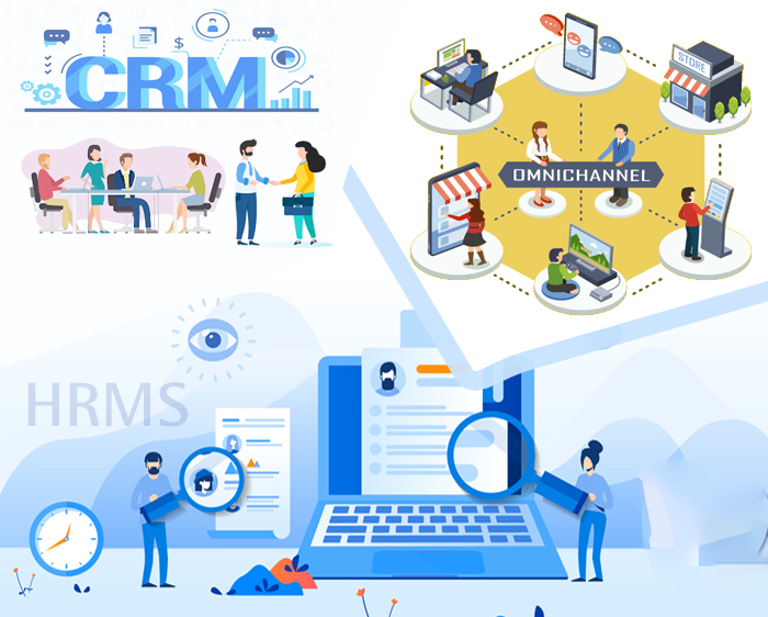 Relation Between CRM, HRMS, and Omni Channel