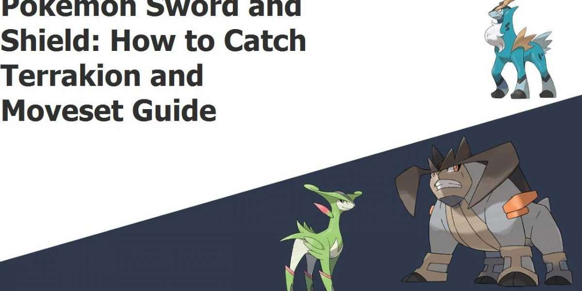 Pokemon Sword and Shield: How to Catch Terrakion and Moveset Guide