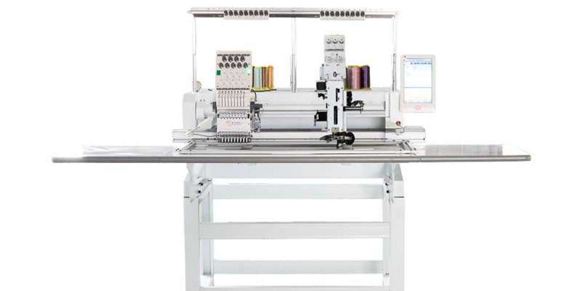 Widely used taping embroidery machine