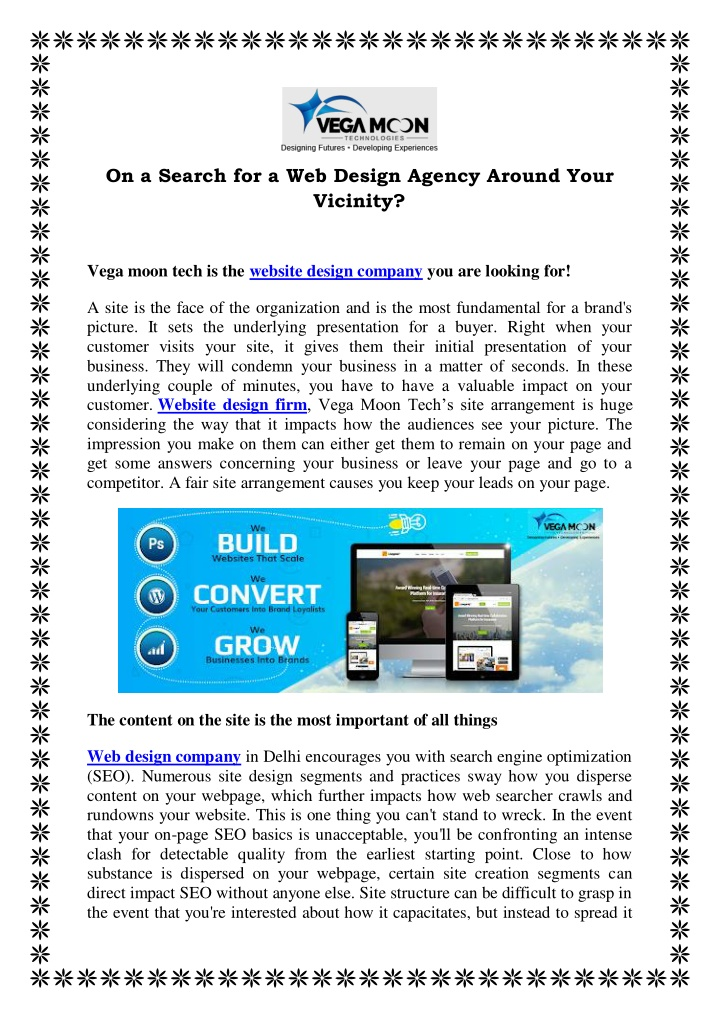 PPT - On a Search for a Web Design Agency Around Your Vicinity? PowerPoint Presentation - ID:10180728