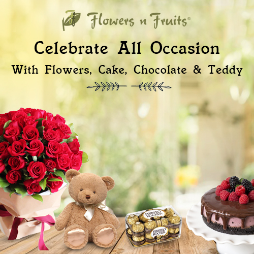 Flower Delivery in Chennai | Send Flowers to Chennai Online | Flowers N Fruits
