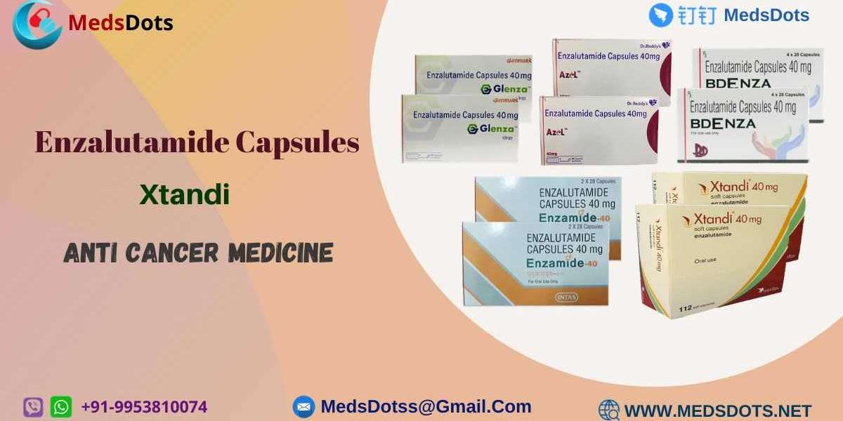 Buy Enzalutamide Brands Online | Generic Xtandi Wholesale Price India | Bdenza 40mg Capsules Supplier