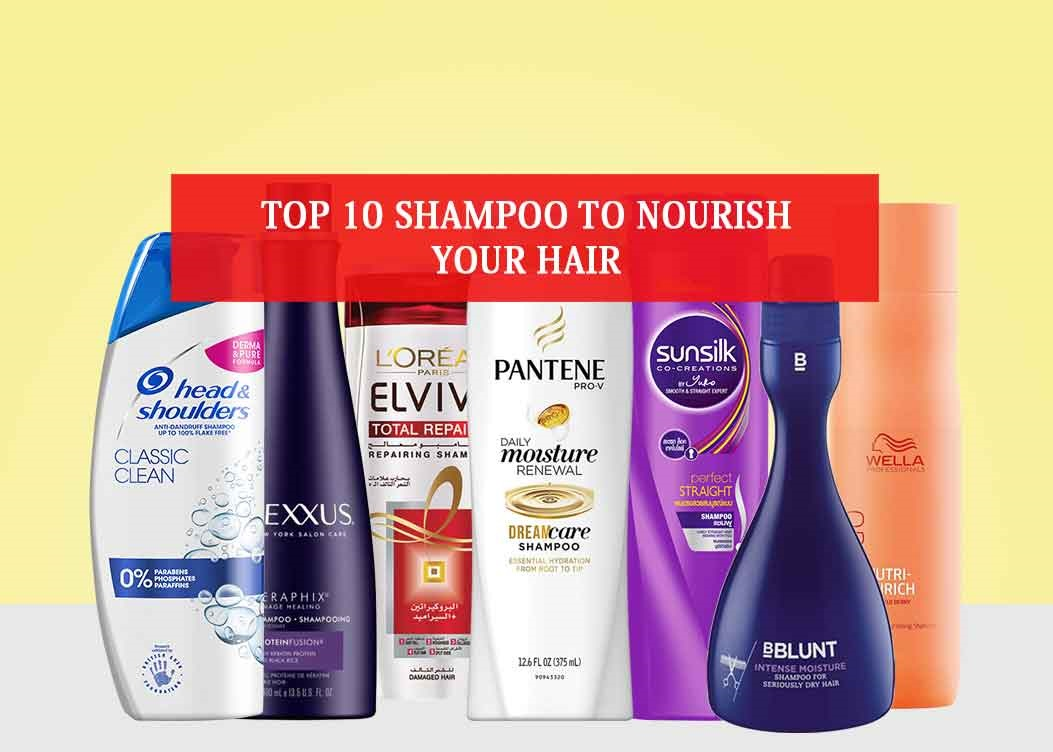 Find The List of 10 Top Rated Shampoos of All The Time