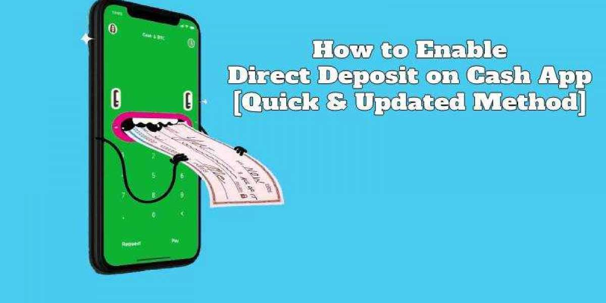 How to Enable Cash App Direct Deposit? Withdraw Paycheck Early