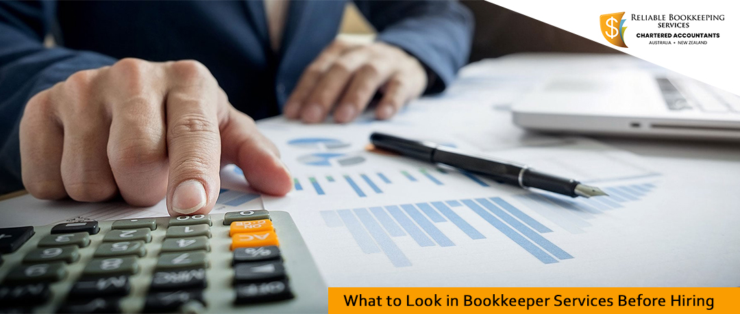 What to Look in Bookkeeper Services Before Hiring