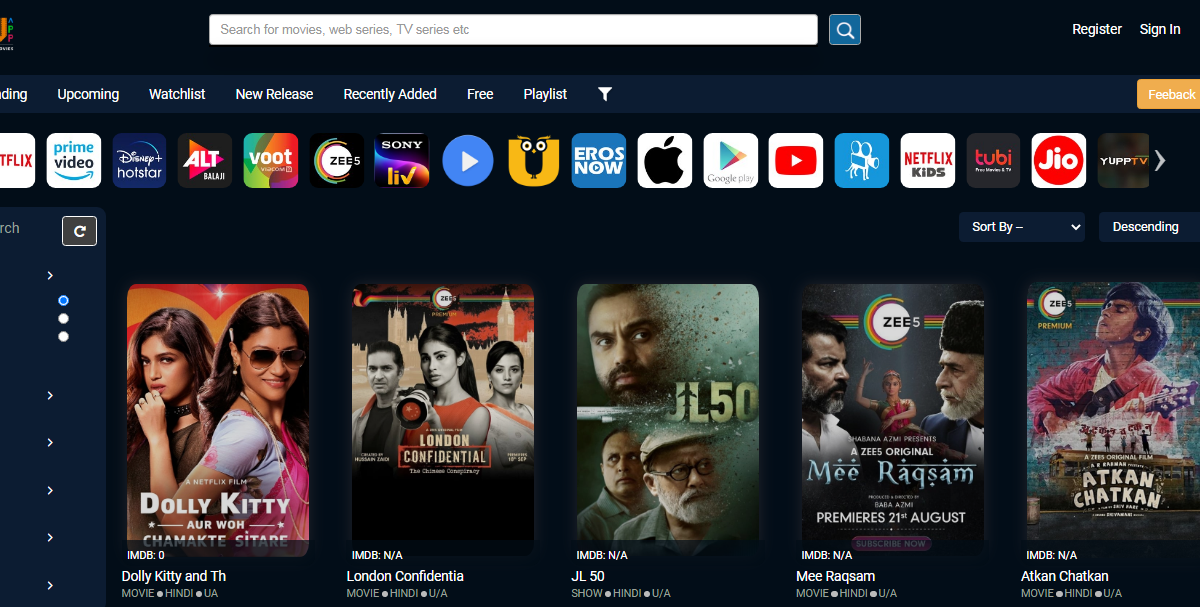 The best free Bollywood and Hollywood movie streaming site