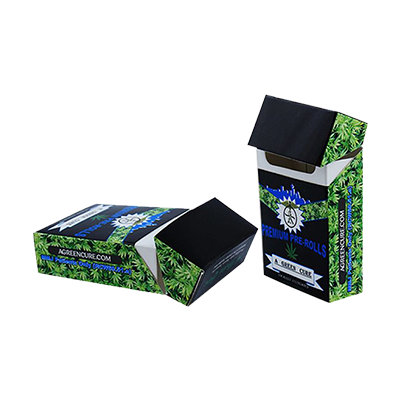 Cannabis Cigarette Boxes With Strong Visuals to Impress