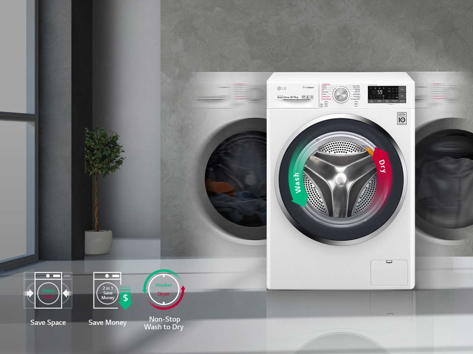9 Front Load Washing Machines 2021 (Best Prices & Features)