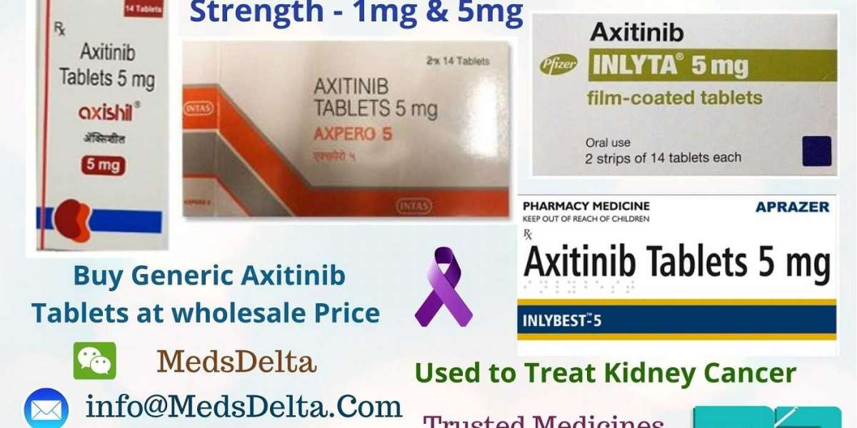 Axitinib 5mg Tablets Wholesale Price | Generic Inlyta India | Inlybest 5mg Supplier