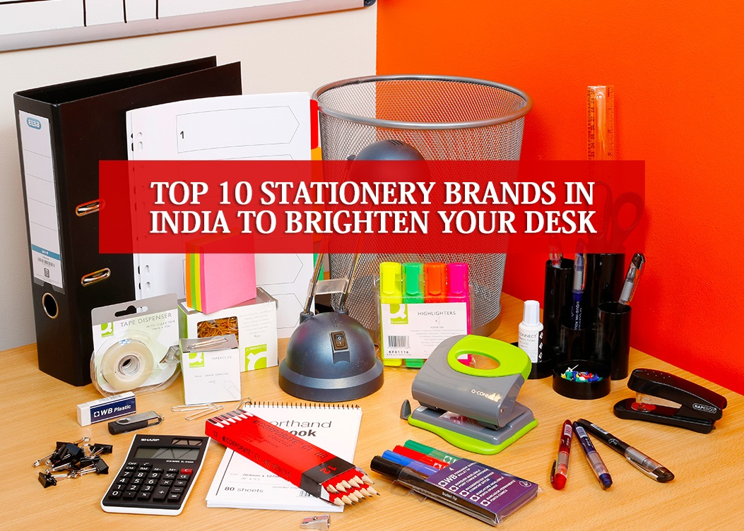 Top 10 Stationery Brands In India To Brighten Your Desk