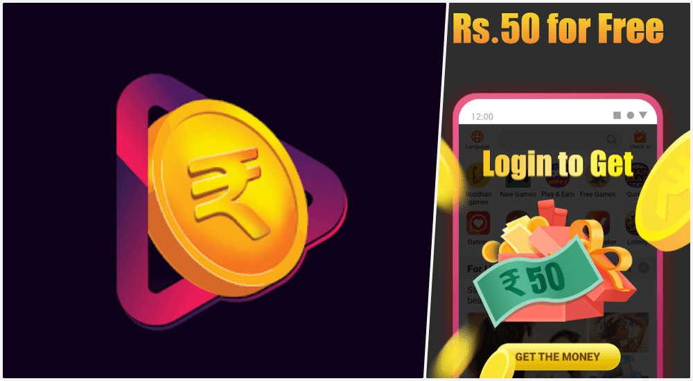Roz Dhan Free Earning App - Get Rs. 50 on Signup + Referral Bonus - Freebies Loot