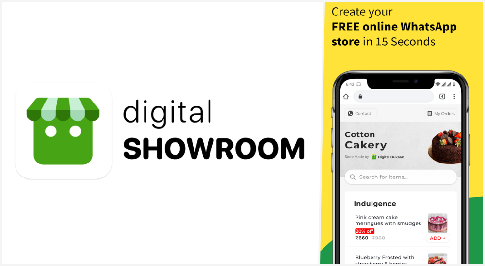 Digital Showroom App: Create Free Online Dukaan and Earn Money Referring Friends - Freebies Loot