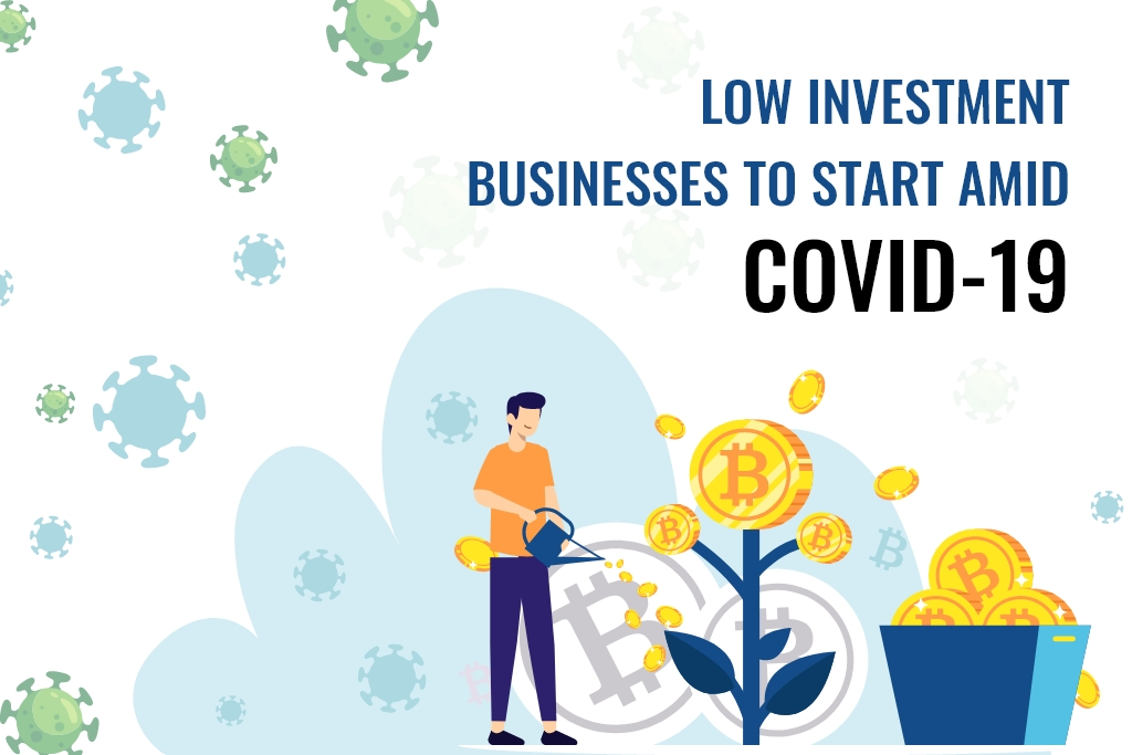 Low Investment Businesses to Start amid COVID-19