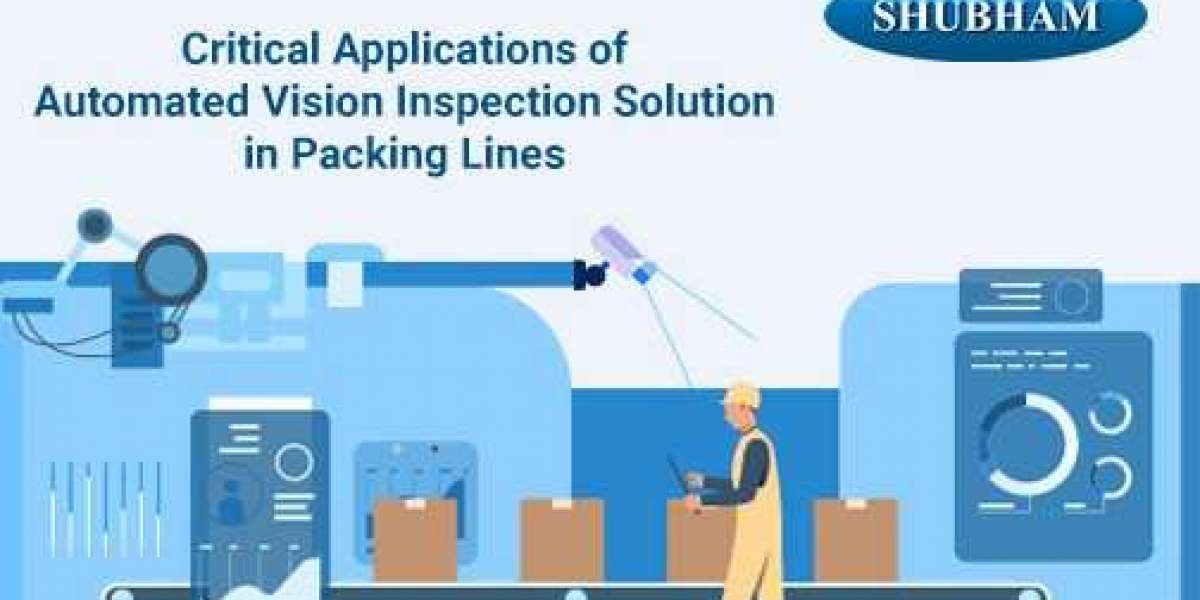 Critical Applications of Automated Vision Inspection Solution in Packing Lines