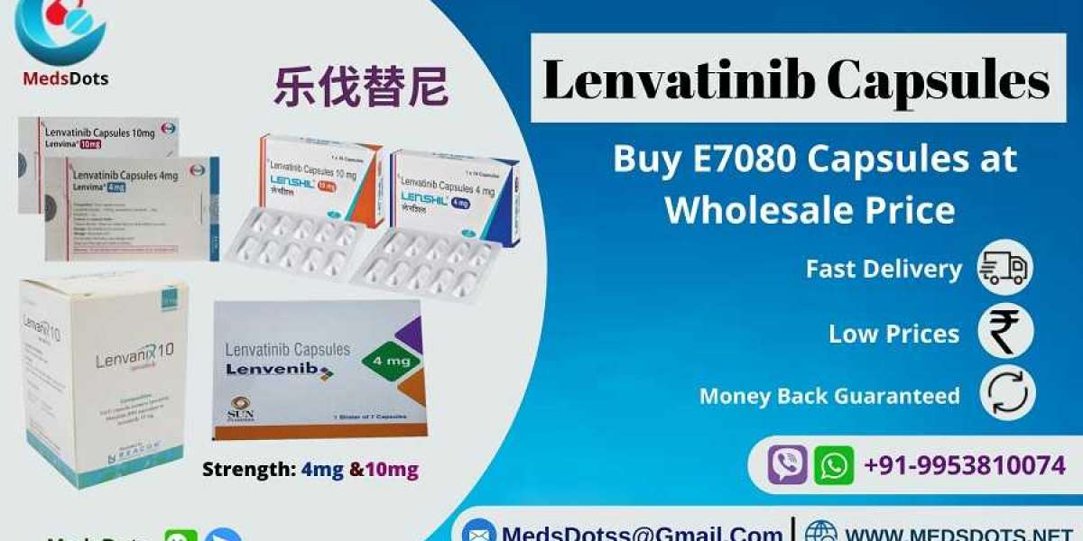 Lenvatinib Brands Supplier | Lenvenib Capsules 4mg Price India | Generic Lenvima