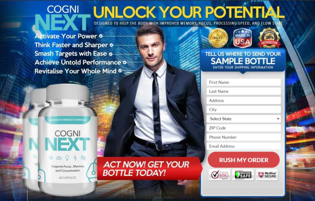 Cogni Next Brain Max : Boost Memory & Get Sharp Mind!