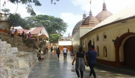 #Assam Latest Breaking News and  Bodo news.: Parbati Devi's 'Yoni' fell on the spot where the temple of Kamakhya stands today,