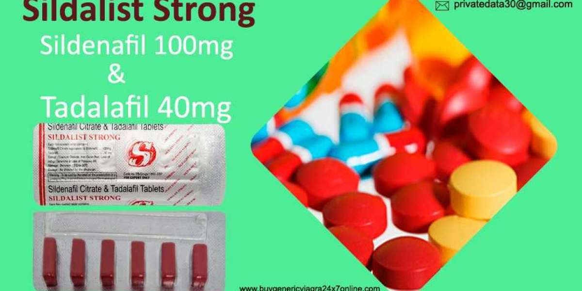 Manage Erectile Disorder Perfectly with Sildalist Strong