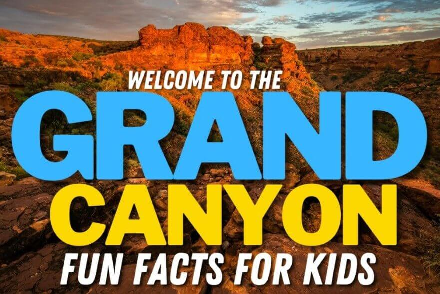 Grand Canyon National Park Facts - The Grand Canyon Park Activities
