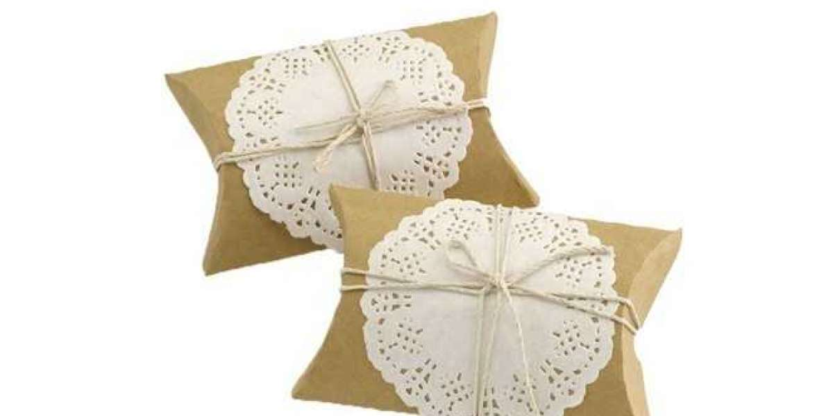 High Quality Custom Printed Pillow Boxes Products