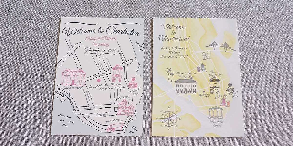 Benefits of Personalized Wedding Map – Read On!