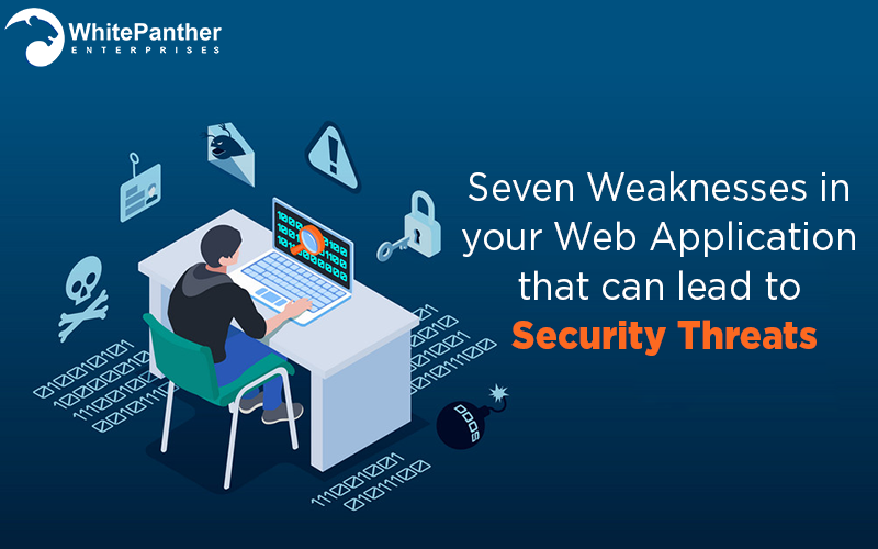 Seven Weaknesses in your Web Application that can lead to security threats – White panther enterprises
