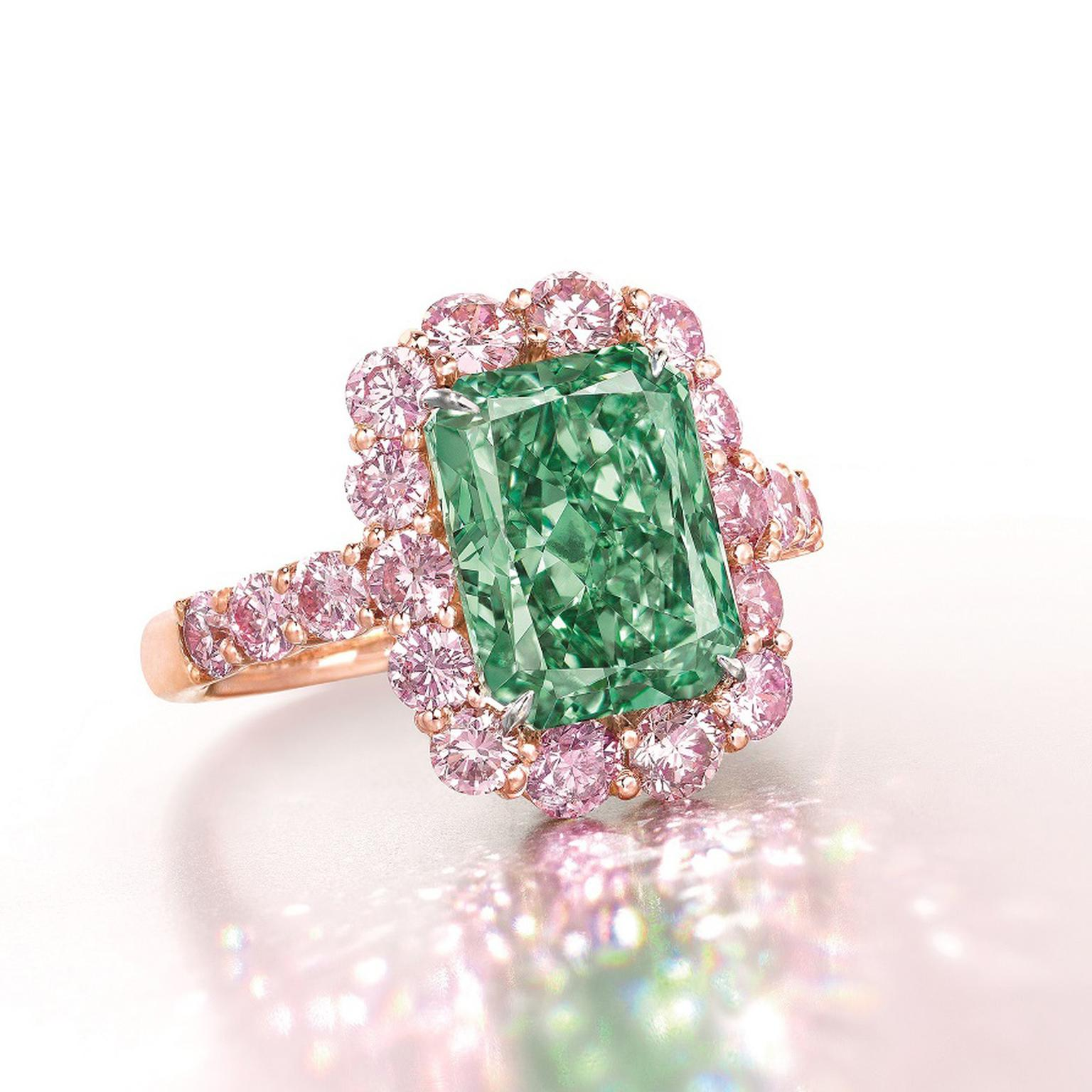 "Green Diamond - ""Real is Rare"" - Real is a Diamond!"