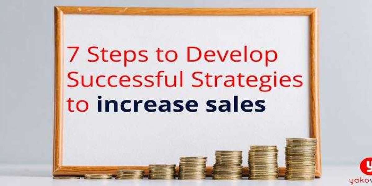7 Steps to Develop Successful Strategies to Increase Sales
