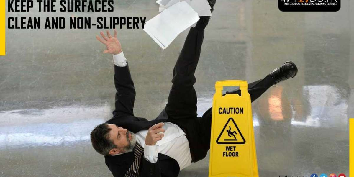 Regular floor cleaning can avoid accidents