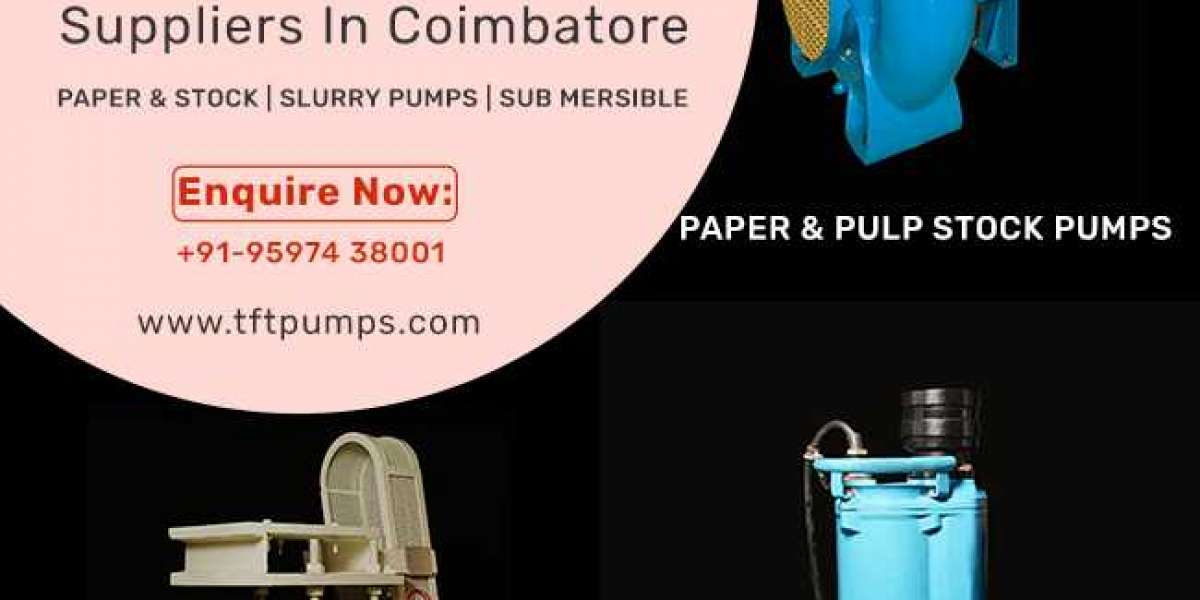 How To Select Right Pumps and Pump Suppliers in Coimbatore?