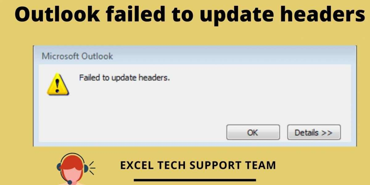[Resolved] Outlook Failed To Update Headers Error in Microsoft