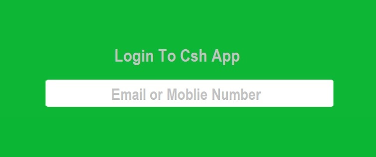 How to login to Cash App without a phone number?