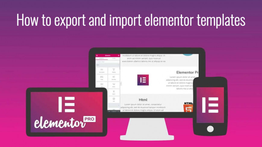 Themeatlas - How to export and import elementor templates?