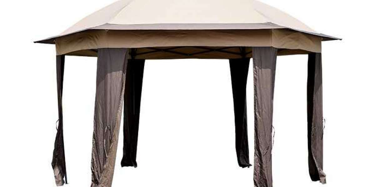 Detailed Structure Of Portable Folding Gazebo
