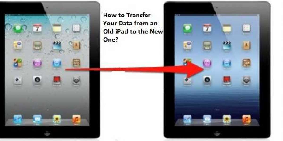 How to Transfer Your Data from an Old iPad to the New One?