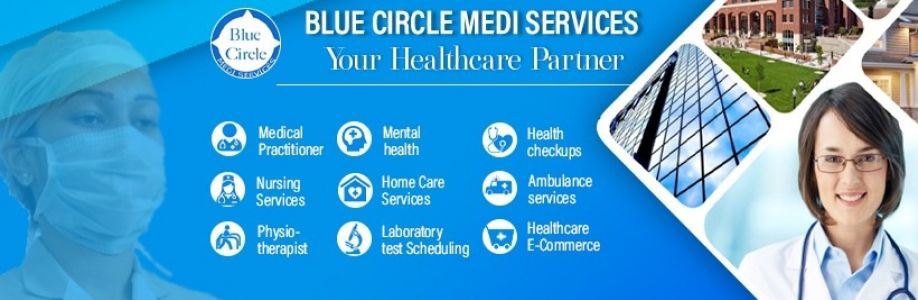 Blue Circle Cover Image