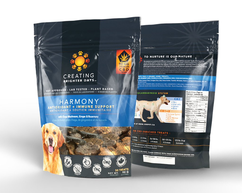 Buy Harmony Nutraceutical Pet Treats Online - West Coast Cannabis