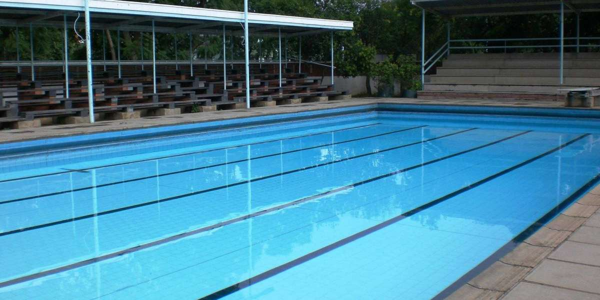 Water pH level for Swimming pool filtration plant & pool