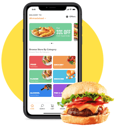 On Demand Food Delivery App Development Company in India, USA