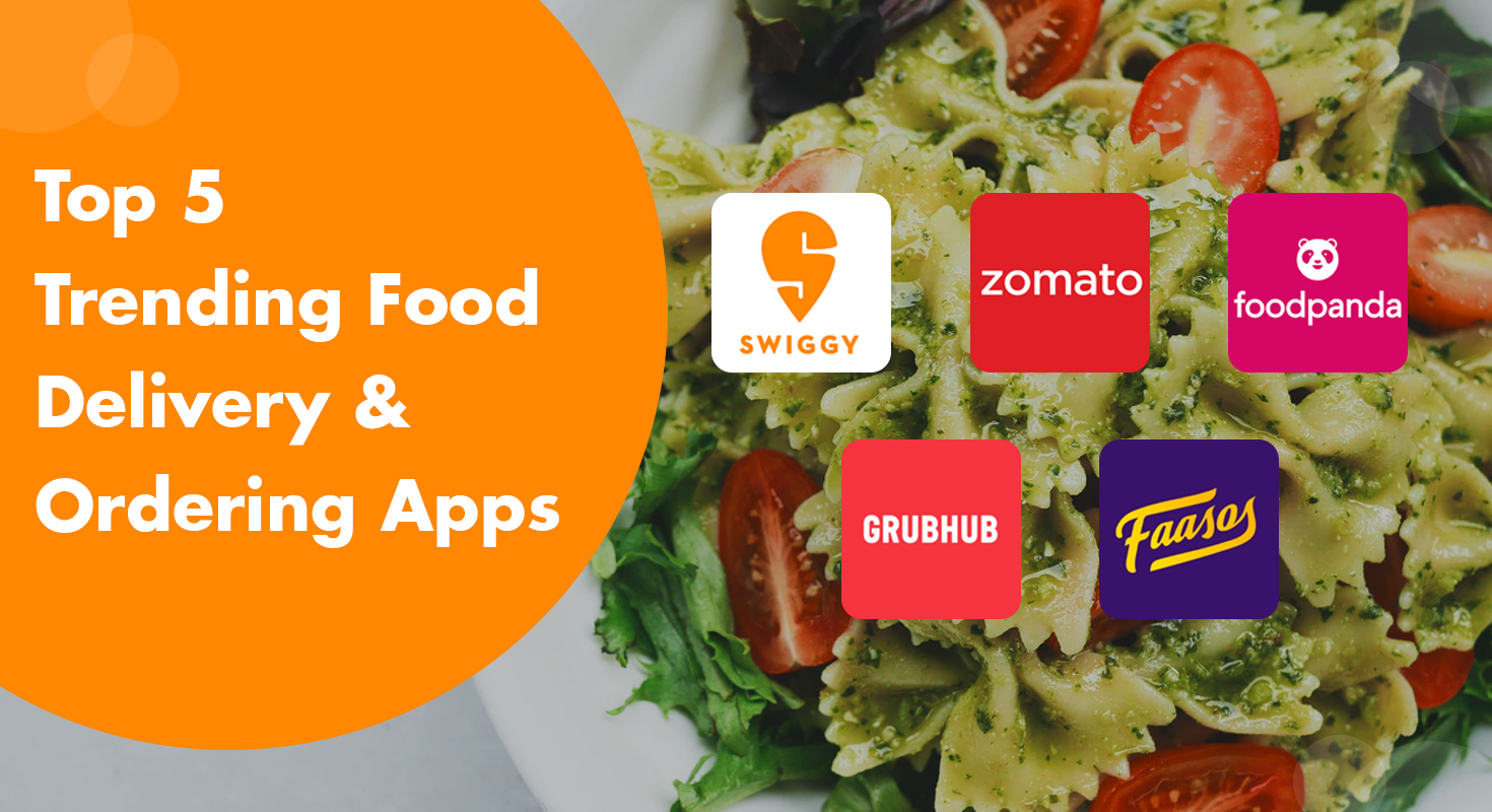 Top 5 Trending Food Delivery & Ordering Apps  iByte Infomatics
