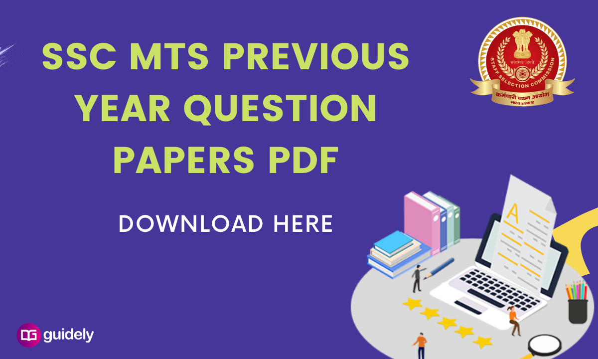 SSC MTS Previous Year Question Papers PDF | Download Free PDF here